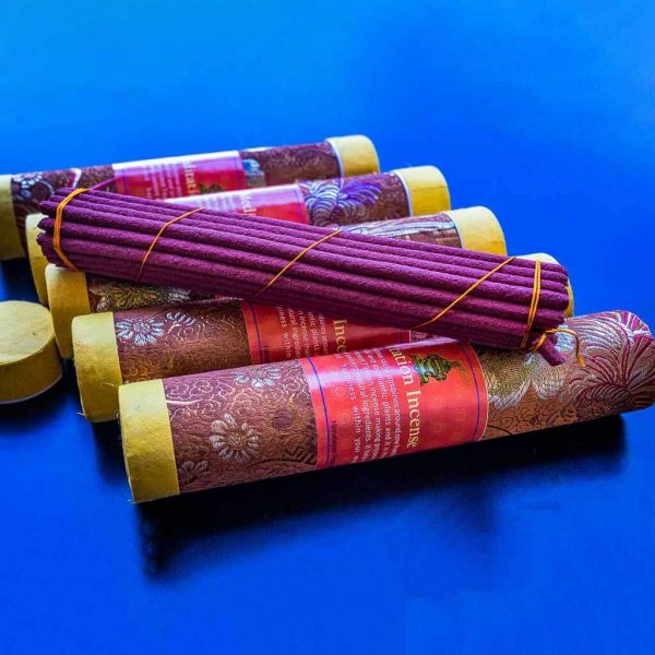 Ancient Tibetan Meditation Incense - organic incense - non toxic incense -non-addictive -handmade incense - eco friendly incense - himalayan incense - incense made from herbs - incense for meditation - incense for healing