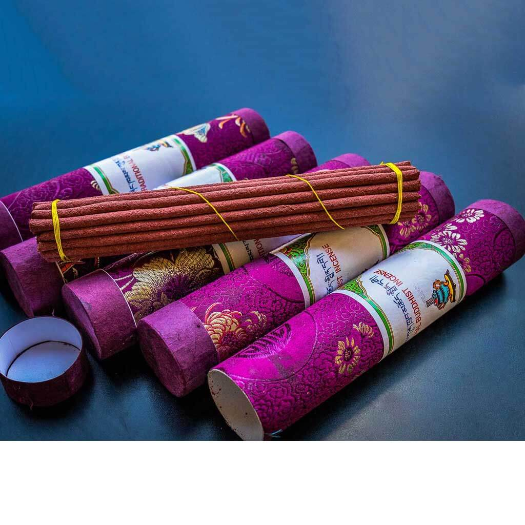 Traditional Buddhist Incense - organic incense - non toxic incense -non-addictive -handmade incense - eco friendly incense - himalayan incense - incense made from herbs - incense for meditation - incense for healing