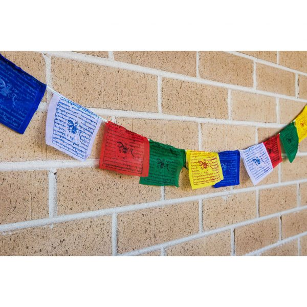 prayer flags, tibetan flags