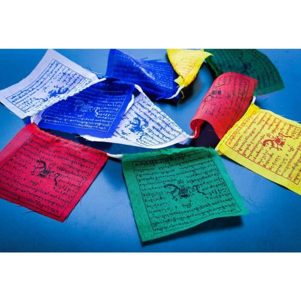 Beautiful Tibetan Prayer Flags Set