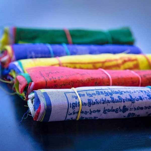Authentic Tibetan Prayer Flags - buddhist tibetan prayer flag -prayer flag - cheap prayer flag -authentic prayer flag - buddhist prayer flag - om mani padme hum mantra painted prayer flag - tibetan prayer flag - traditional flag - prayer flag picture - buddhist flag