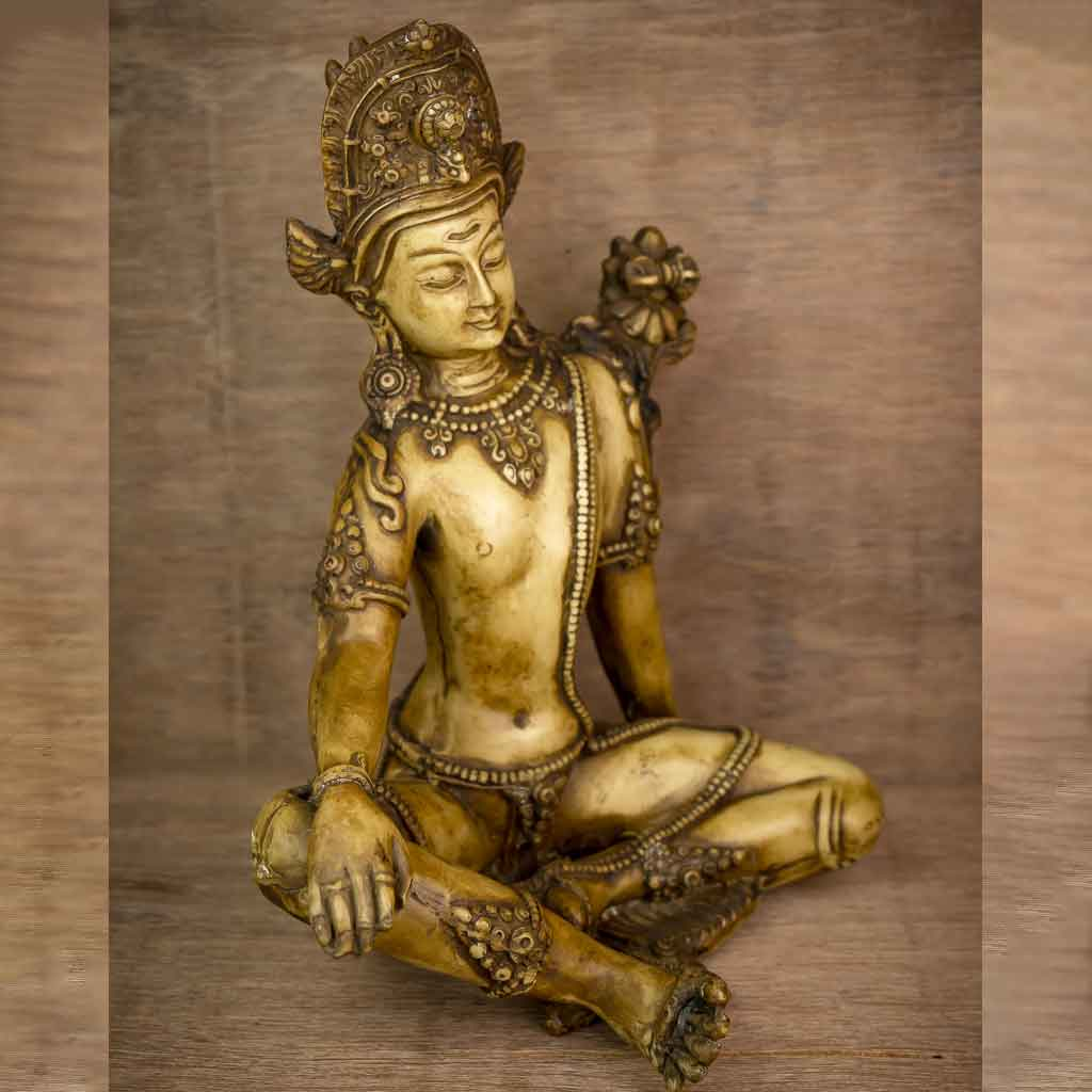 Ivory Indra Statue