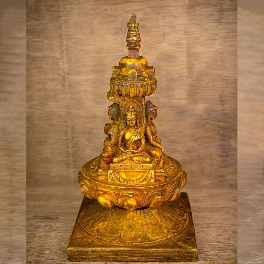 Four Faced Buddha Stupa