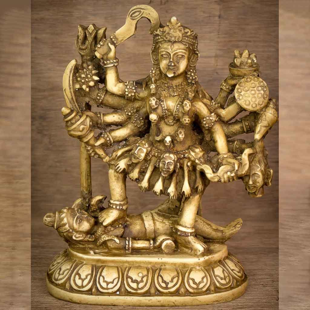 Goddess Kali Statue - kali statue - devi kali- kali- kalika - kali maa - kali mata- kaalratri - baisnavi - bhawani