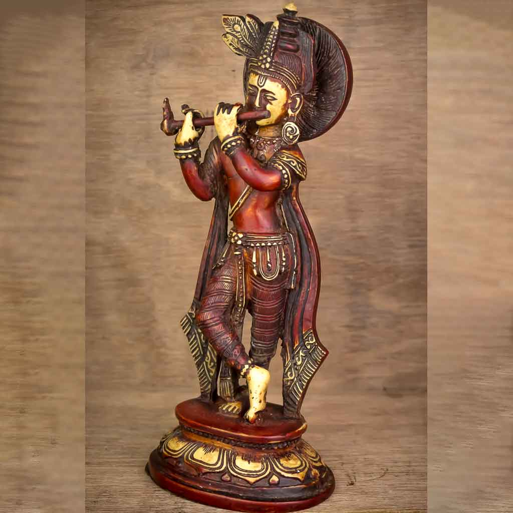 Antique Krishna Statue