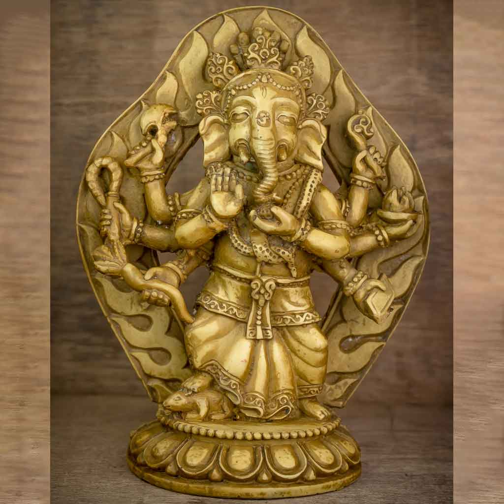 Festival Parwa Ganesh Statue