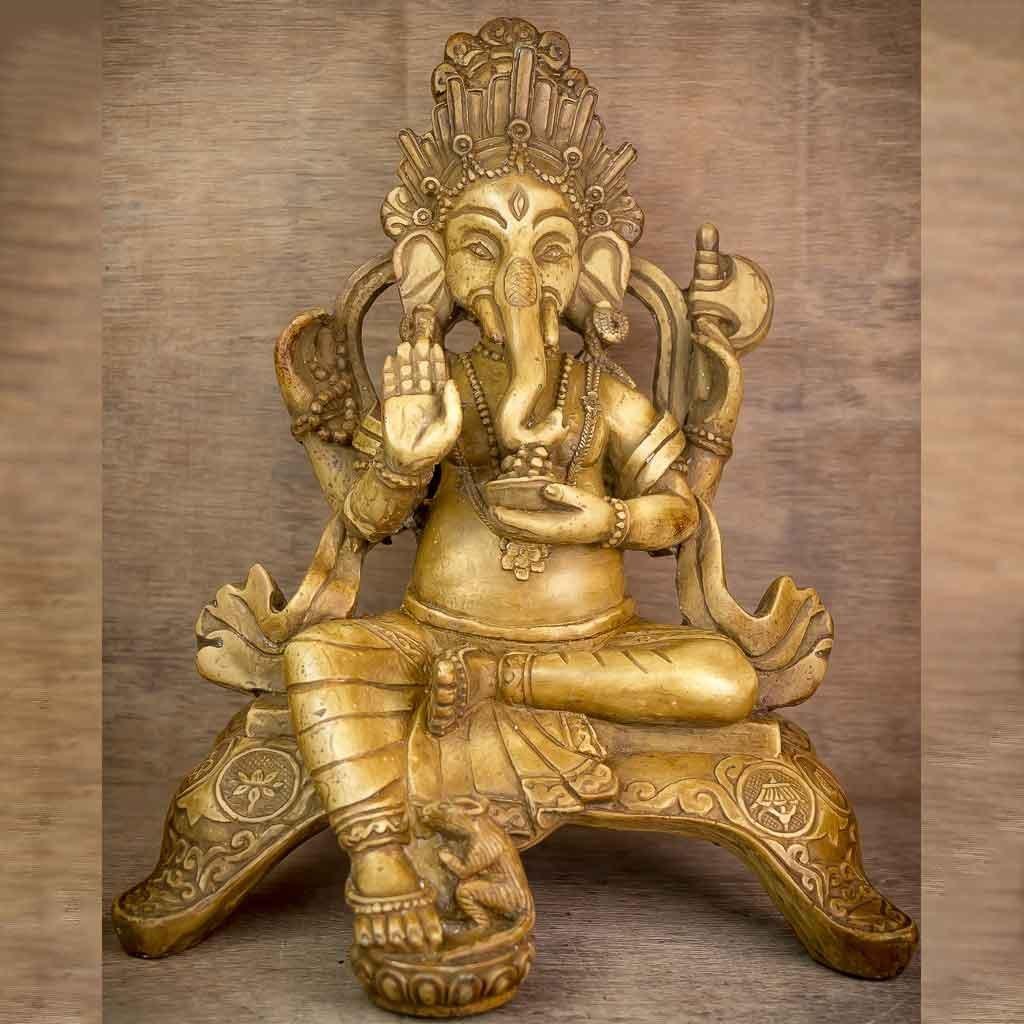 Aashirvaad Ganesh statue