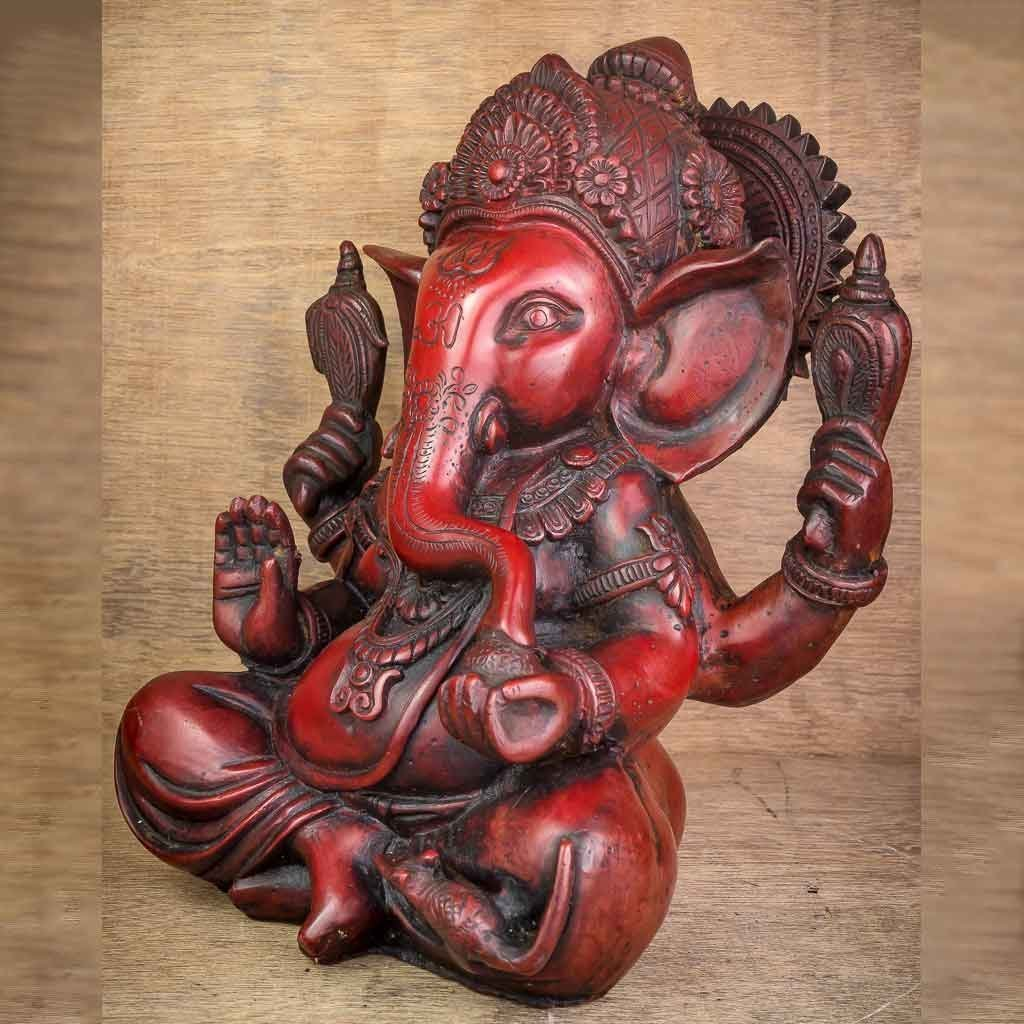 Crown Ganesh Statue