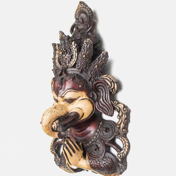 Antique Namaste Welcome Ganesh