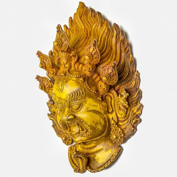 Bhairav Wall Hanging Yellow