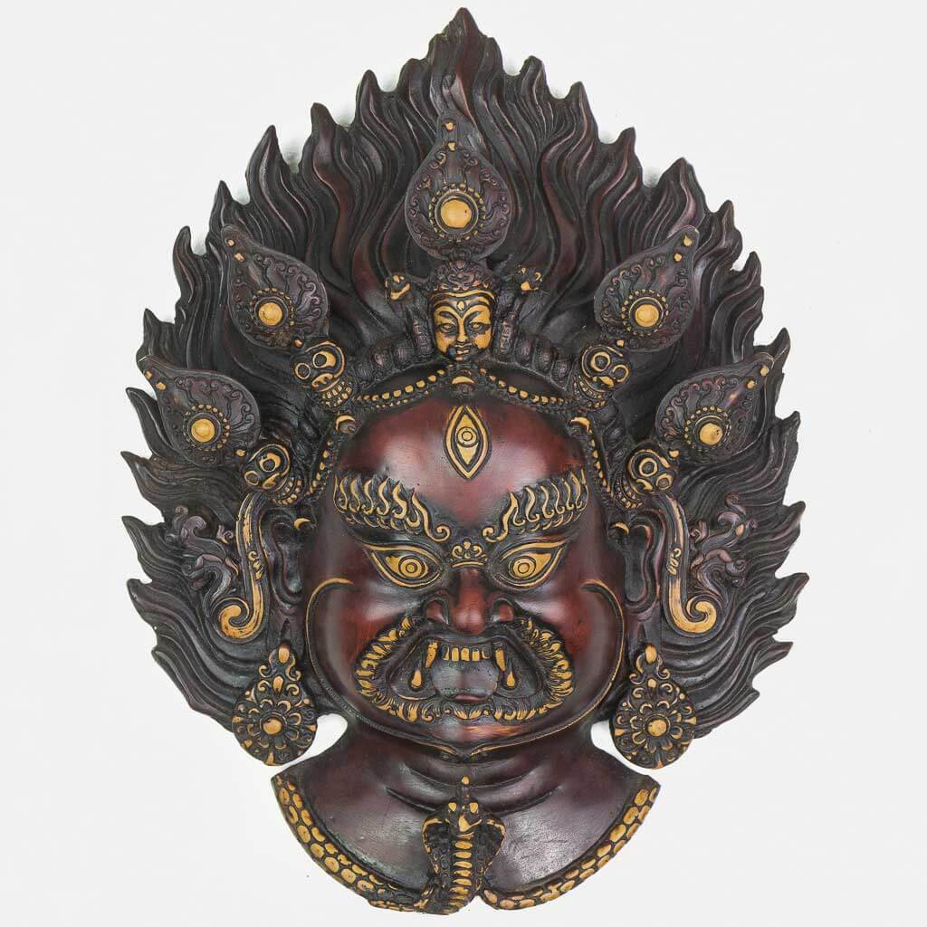 Fiery Bhairav Wall Hanging