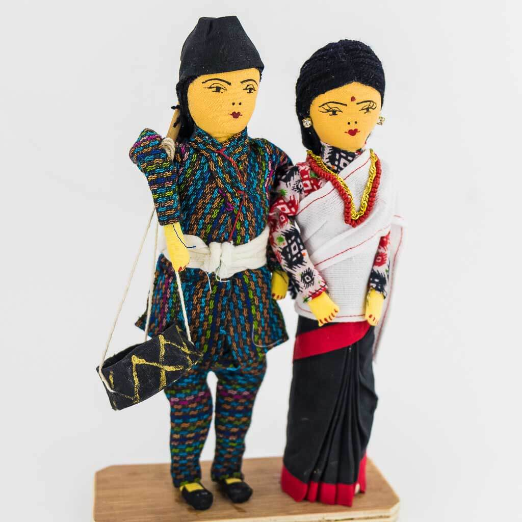 newar couple doll
