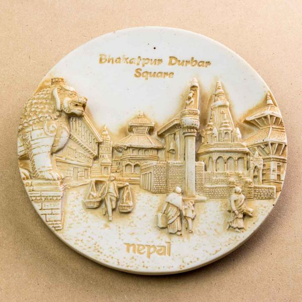 Bhaktapur Durbar Square Wall Decor Plate
