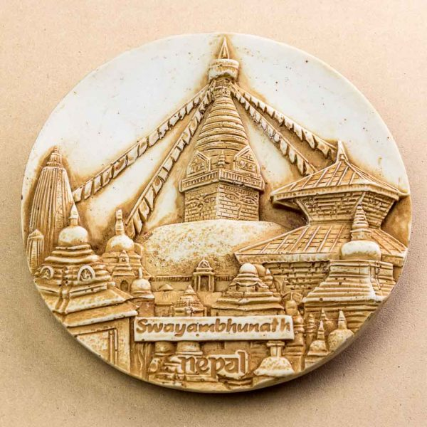 Swyambhunath Wall Decor Plate