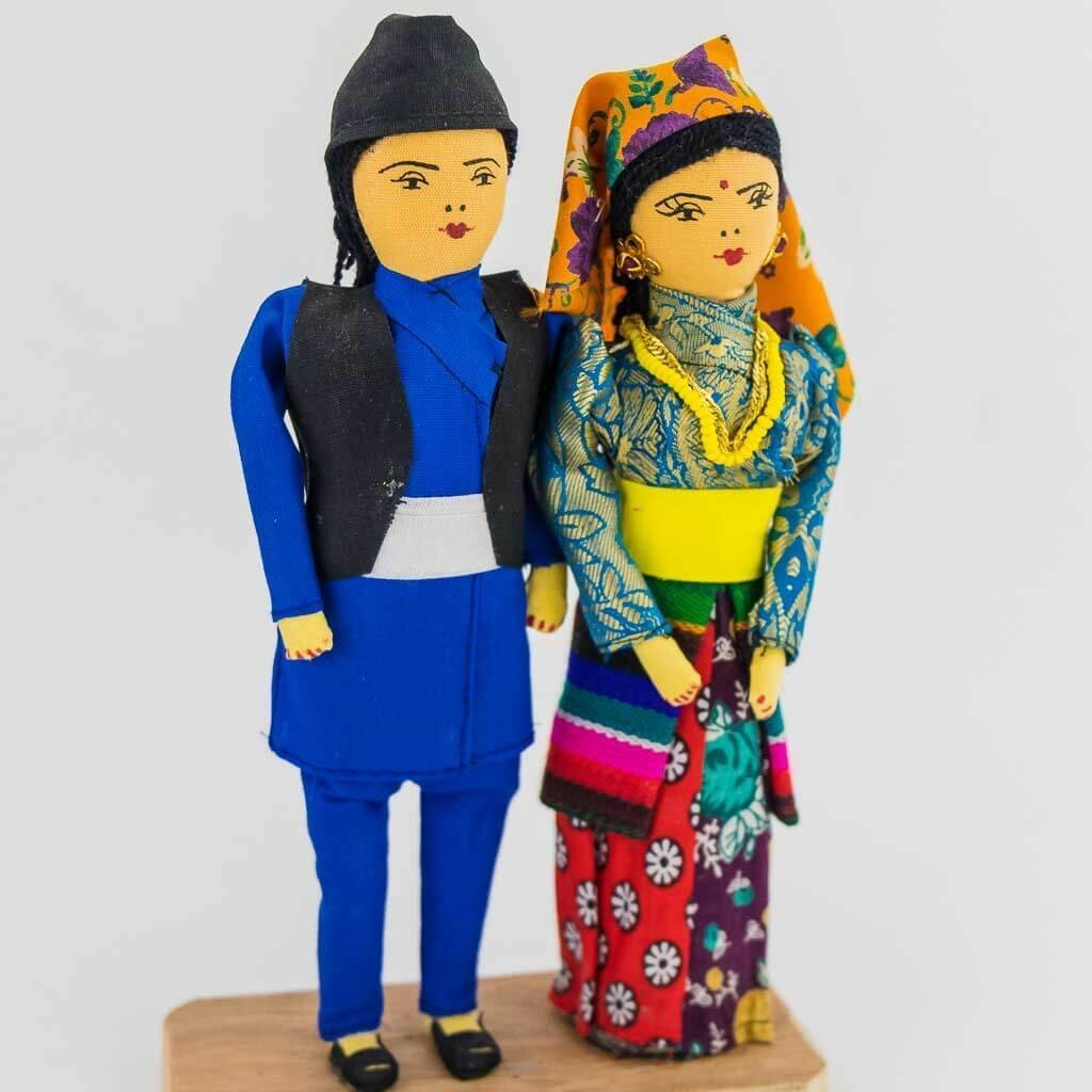 tamang couple doll