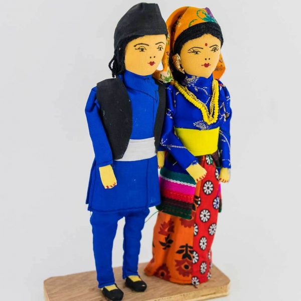 Traditional Tamang Couple