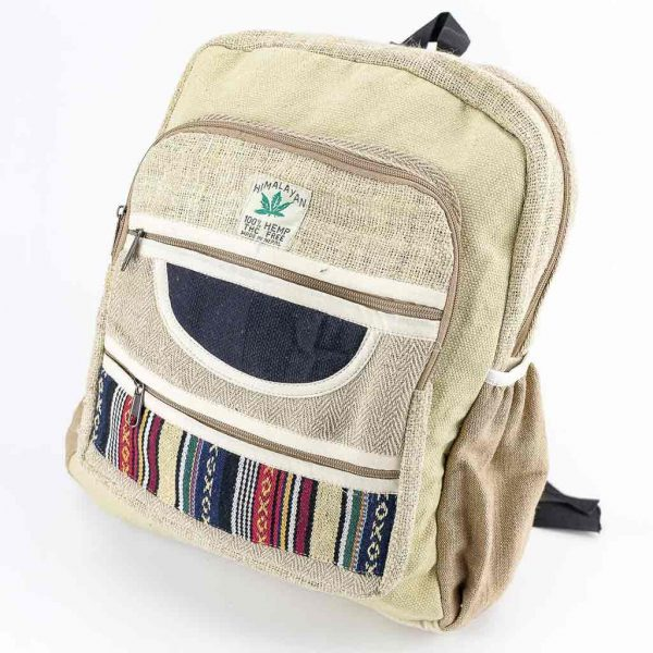 Hemp Backpack - HB75001-best-cheap-hippie-nepal-clothing-australia-thamel-shop