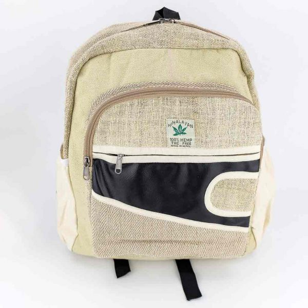 Hemp Backpack - HB75007-thamel-shop-hippie-best-cheap-clothing-nepal-australia