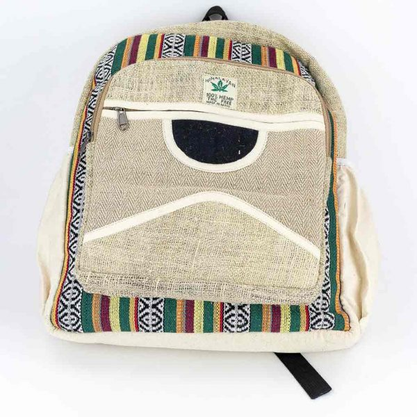 Hemp Backpack - HB75008-thamels-shop-best-cheap-hippie-nepal-clothing-australia