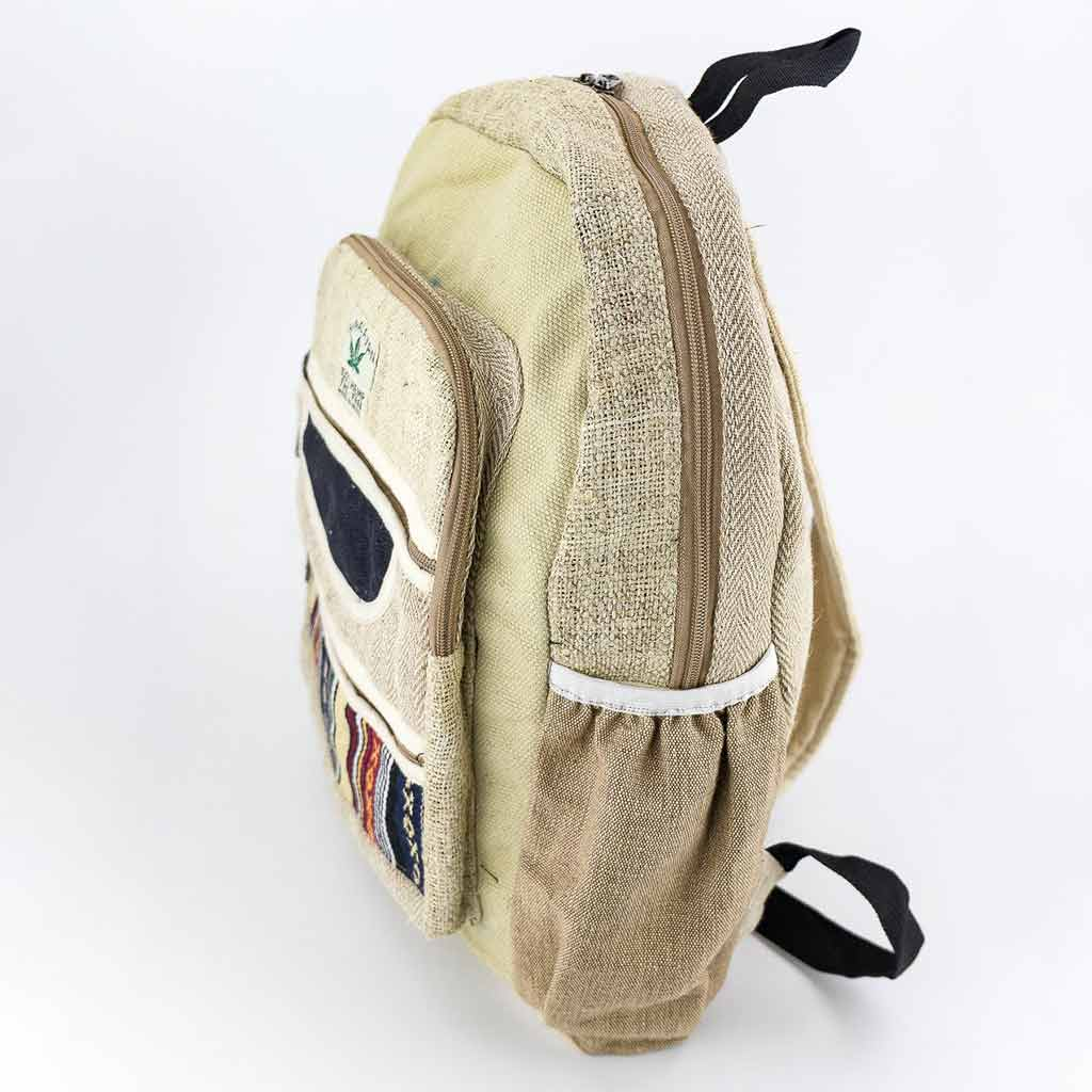 Hemp Backpack - HB75011-cheap-best-hippie-nepal-clothing-australia-thamel-shop