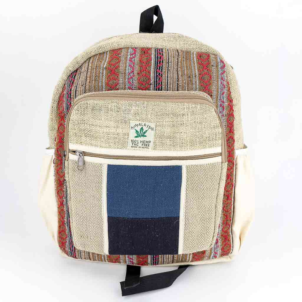 Hemp Backpack - HB75013-thamel-shop-hippie-nature