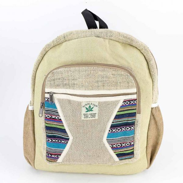 Hemp Backpack - HB75015-thamelshop-cheap-best-nepali-hippie-clothing-australia
