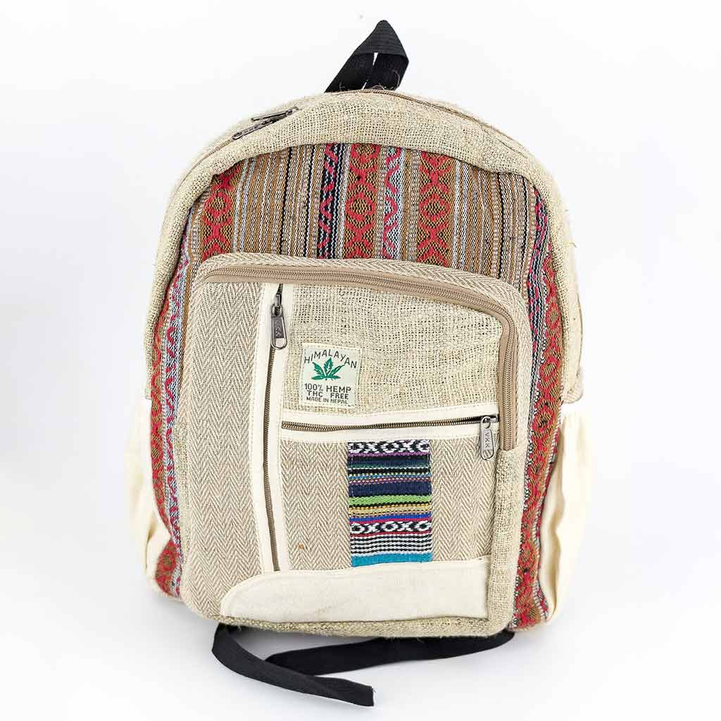 Hemp Backpack - HB75017-eco-friendly-natural-thamel-shop