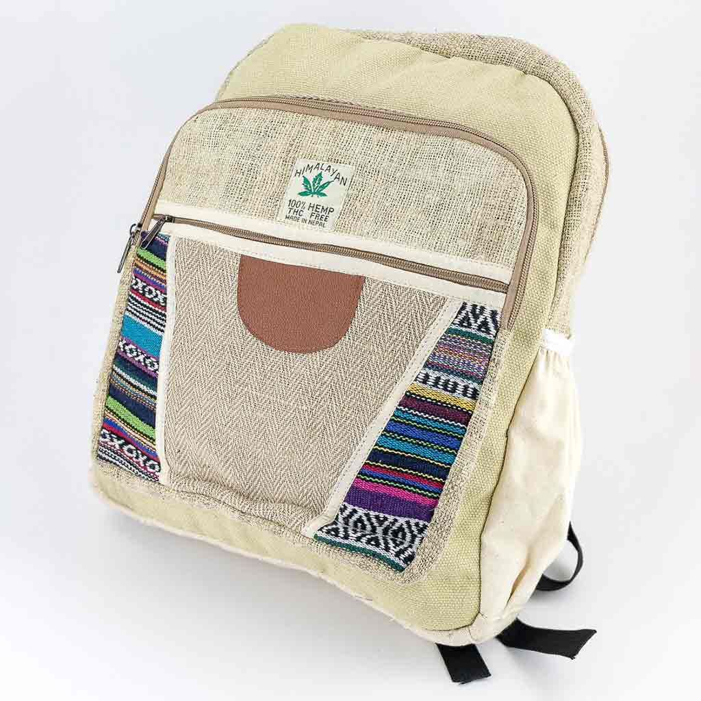 Hemp Backpack - HB75019-cheap-best-thamel-shop-hippie