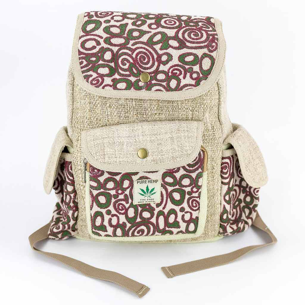 Hemp Backpack - HB75028-Thamel-Shop-Worldwide-shipping-hippie