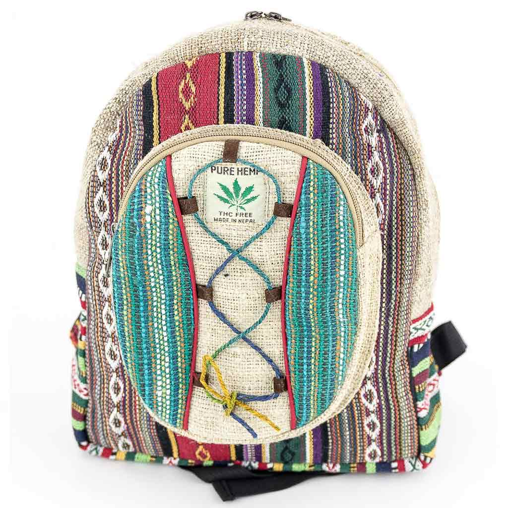 Hemp Backpack - HB75032
