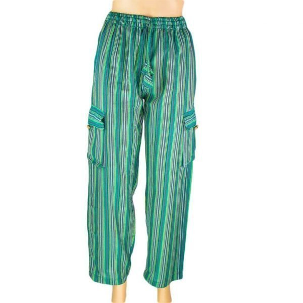 thamelshop-hippie-sea-green-stripe-cotton-box-pant-worldwide-shipping-nepal-clothing-australia