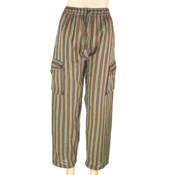 thamelshop-striped-olivegreen-box-pants-nepali-clothing-in-australia