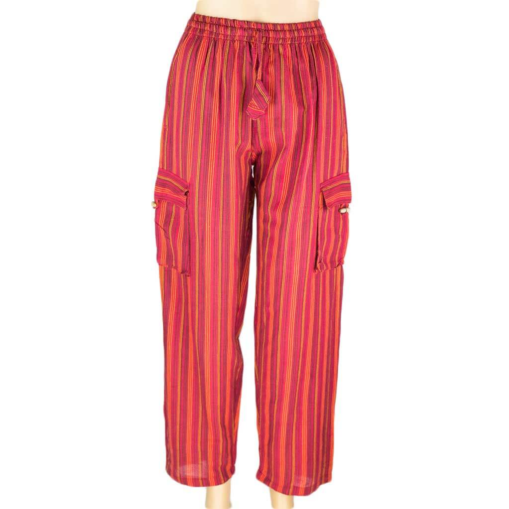 hippie-red-stripe-cotton-box-pant-thamelshop-worldwide-shipping-nepali-clothing-australia