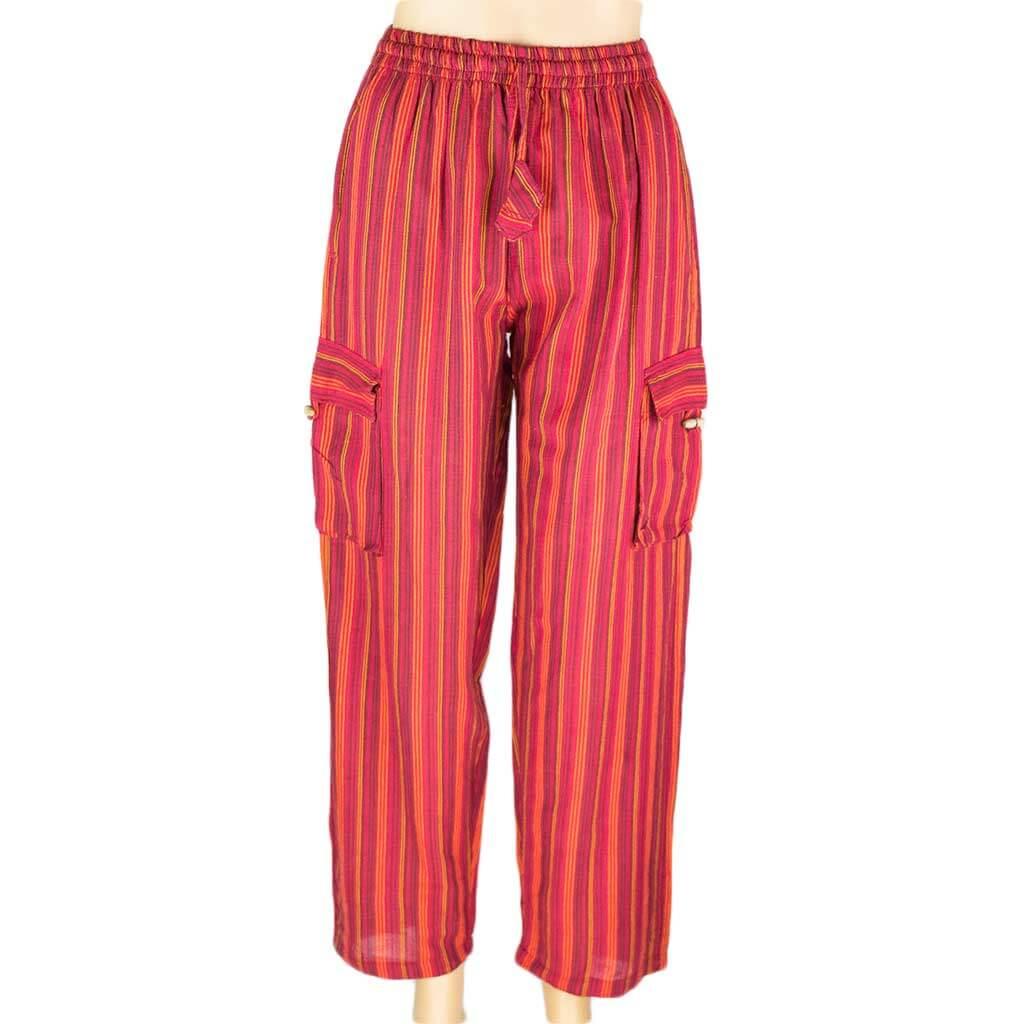 hippie-red-stripe-cotton-box-pant-thamelshop-worldwide-shipping-nepali-clothing-australia