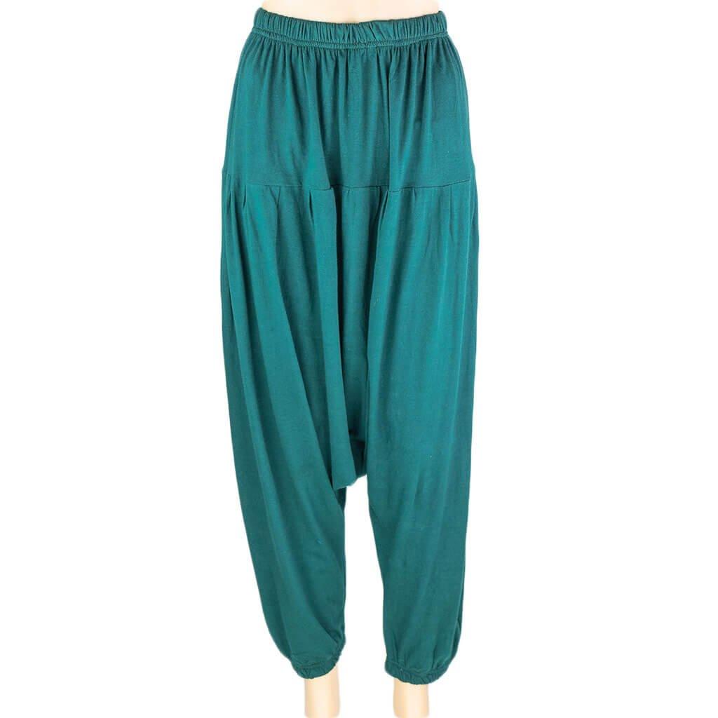 green-drop-crotch-harem-pant-thamel-shop-best-cheap-hippie-clothing-nepal
