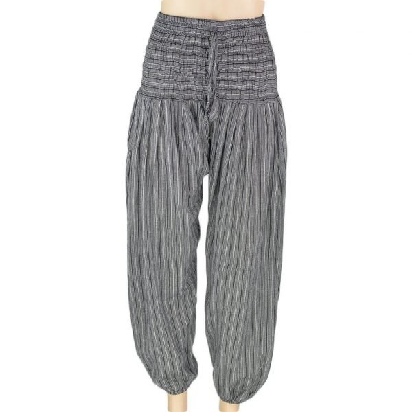 thamel-shop-46-black-stripe-harem-pant-women-best-hippie-nepal-clothing-australia