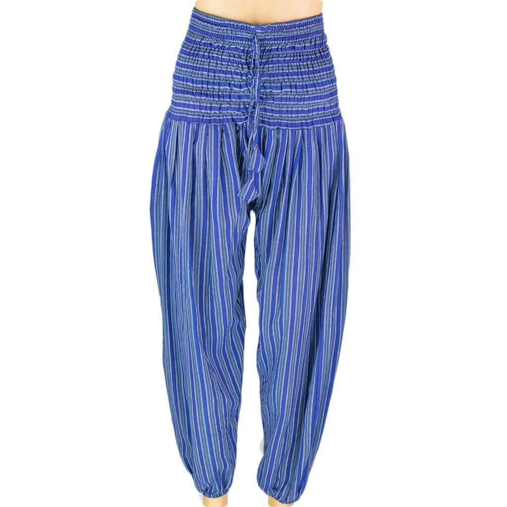 f881cf5f7e0f Stripe Harem Pant – Blue – Thamel Shop