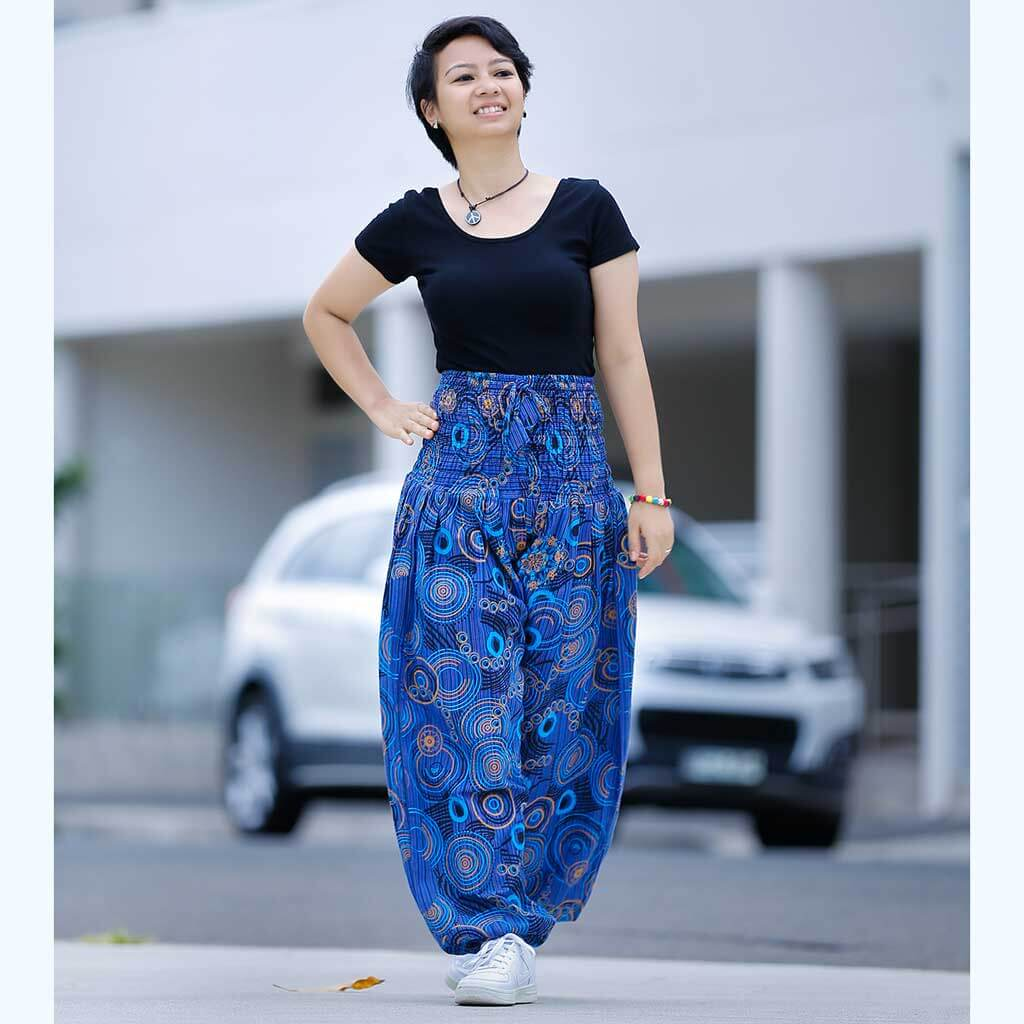 Printed Cotton Gypsy Pant - ST03A
