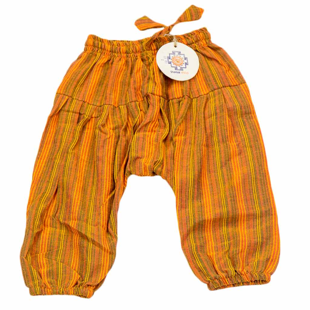 Kids Harem Pants-orange