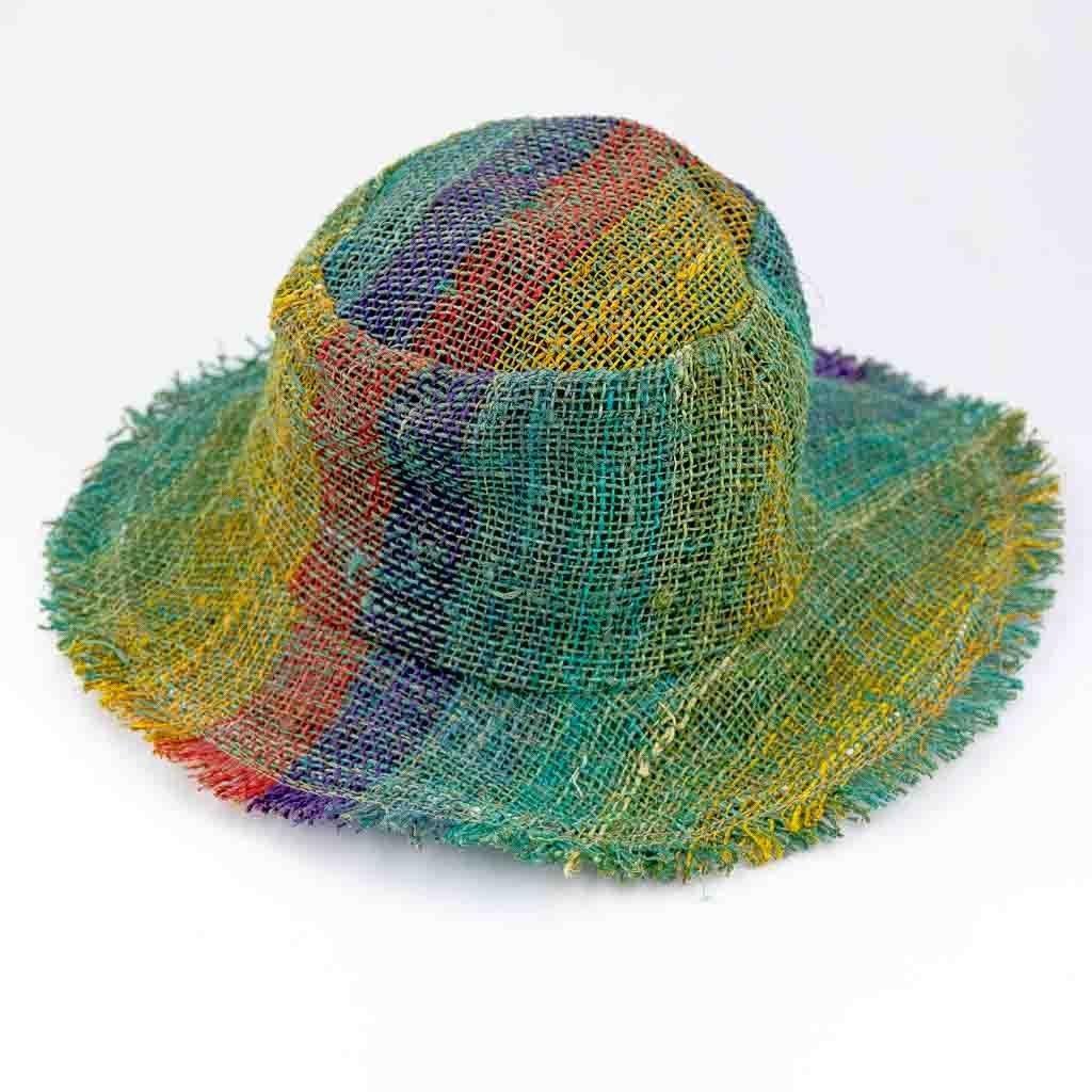 Hemp Sun Hat – Rainbow Body – Thamel Shop 663a62aa382