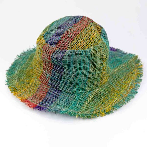 Hemp Rainbow Sun Hats