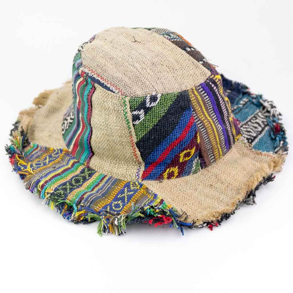 Cotton Hemp Patch Hats