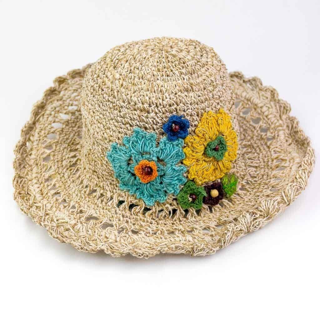 Woven Hemp Hats