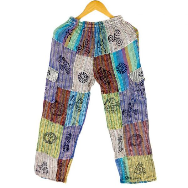 thamelshop-stipred-box-patch-pants-hippie-fashion-nepali-clothing-in-australia