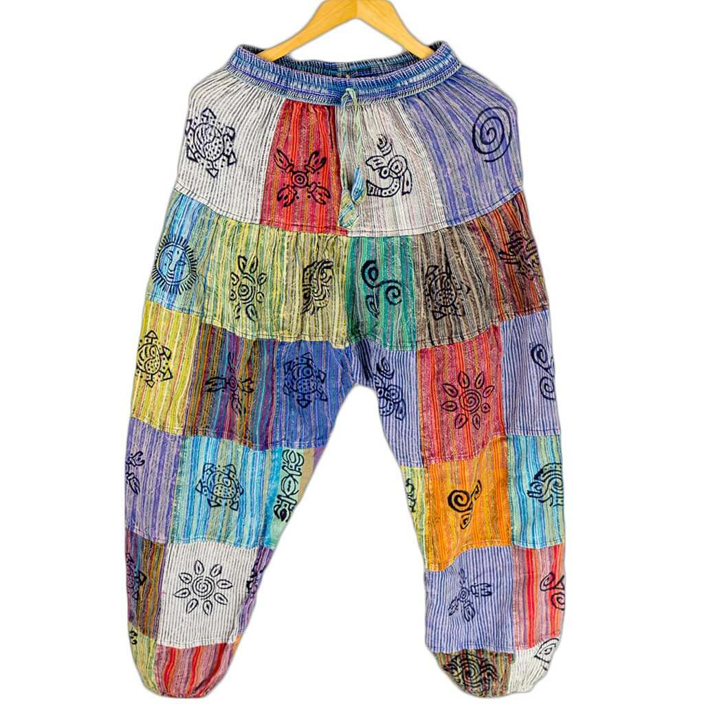 hippie-fashion-nepali-clothing-in-Australia-striped-harem-pants