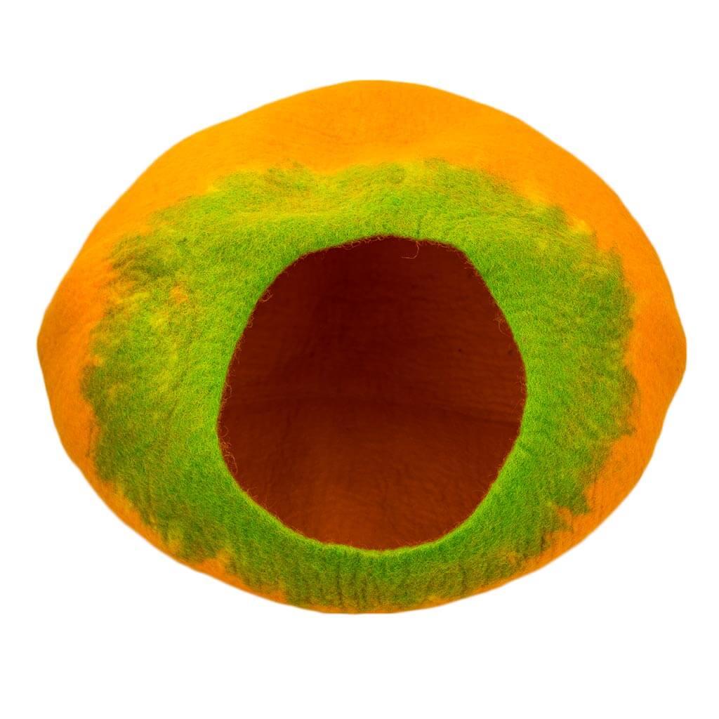 Orange-Green-Felt-Cat-House-Thamel-Shop-Worldwide-Shipping-Hippie