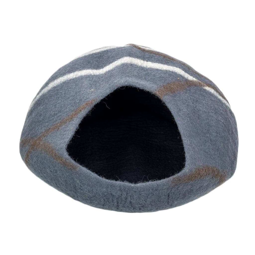 Mid-Grey-Felt-Cat-House-Thamel-Shop-Worldwide-Shipping-Hippie