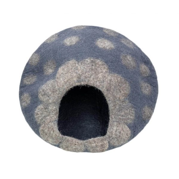 grey-polka-cat-house-thamelshop-worldwide-shipping