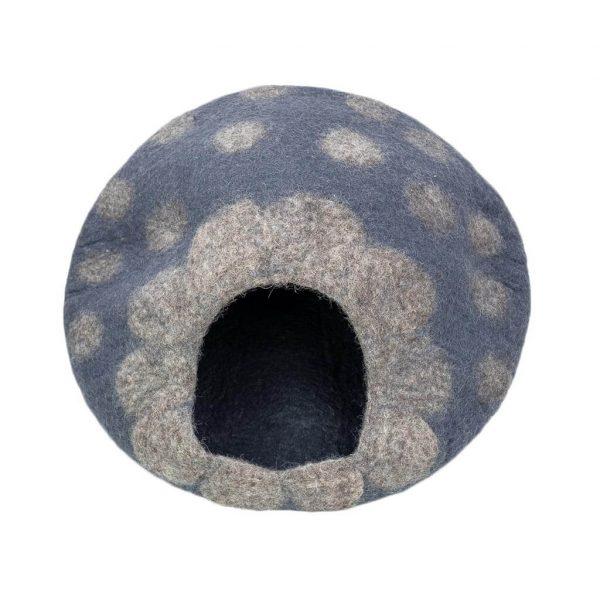 grey-polka-cat-house-thamelshop-worldwide-shipping