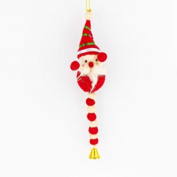 Felt Snowman Hanger with Belt - christmas snowman hanger - christman snowman hanger with bell - snowman hanger - snowman hanger with bell - thamelshop - Felt Christmas Hanger with Bell - Eco-friendly - Christmas hanger with bell - Christmas decorative item - New Zealand wool christmass item - handmade christmass item - decorative item - christmass hanger- hanger with bell - felt item - felt handmade item - wool handmade item- wool decorative item- wool christmas item - xmas decorative item - xmas felt decorative item